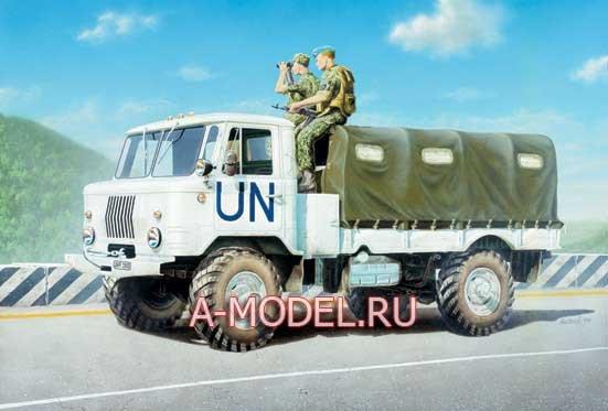 35131 ГАЗ-66 Восточный экспресс 1/35 сборные модели :: танков:: техники