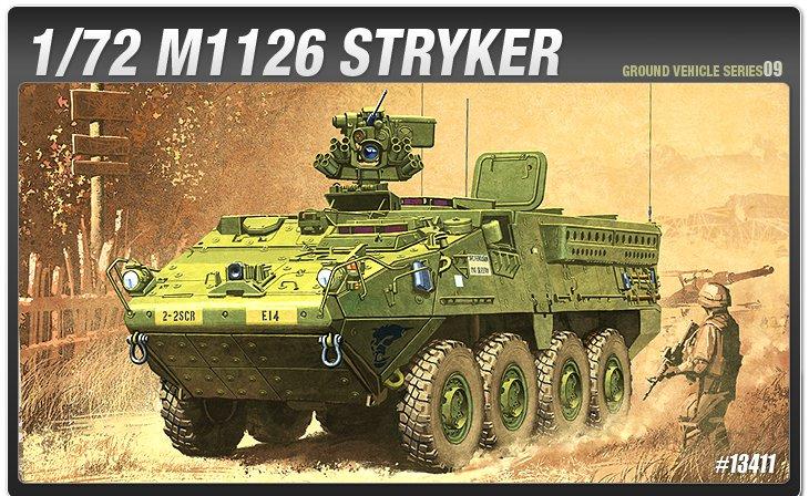 13411 БТР Страйкер ACADEMY :: сборные модели :: техника ::  ACADEMY :: 1/72