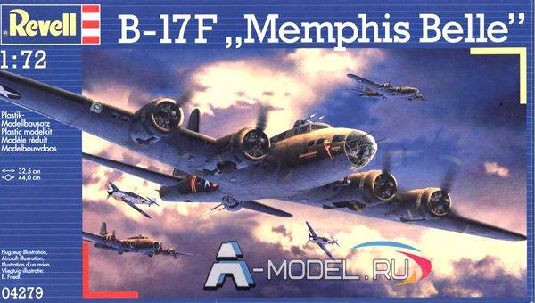 04249 B-17F Memphis Belle - купить сборную модель самолета 1/72 REVELL.