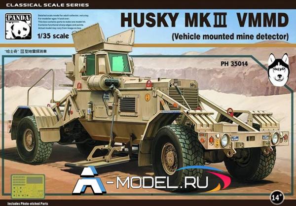 PH35014 Husky MKIII VMMD - Vehicle mounted mine detector - купить сборную модель танка и техники 1/35 Panda Hobby