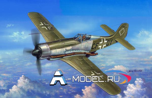 81747 FW190V18 Hobby Boss 1/48 сборные модели самолетов и вертолетов