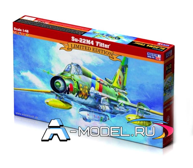 G-12 Su-22m4 Ffitter k Mister Craft сборные модели самолетов 1/48
