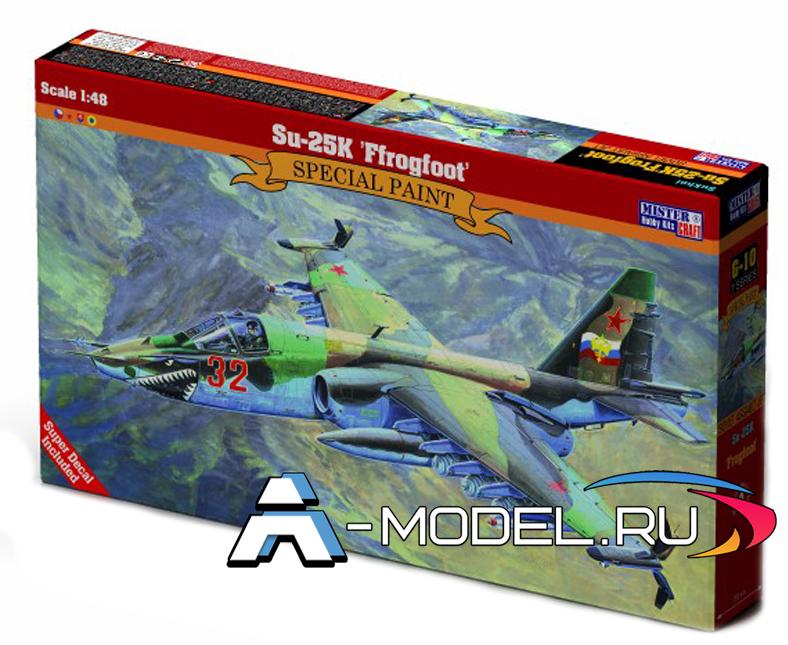 G-10 Su-25K Frogfoot Mister Craft сборные модели самолетов 1/48