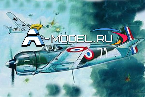 0840 Bloch MB 152 SMER 1/72 сборные модели самолетов и вертолетов