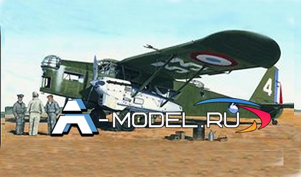 0846 Potez 540 SMER 1/72 сборные модели самолетов и вертолетов