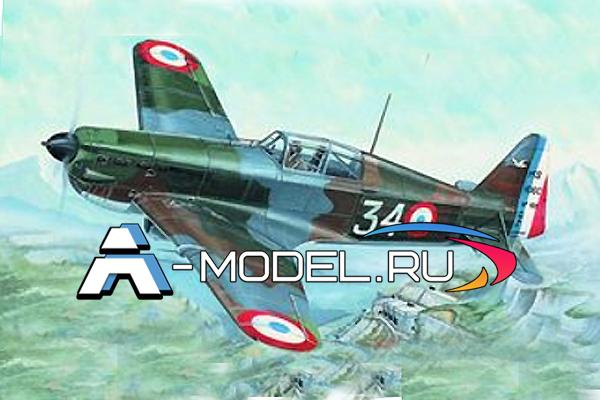 0849 MS 406 Morane-soulnier SMER 1/72 сборные модели самолетов и вертолетов
