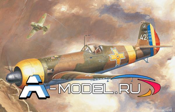 81757 IAR-80 Romania fighter Hobby Boss 1/48 сборные модели самолетов и вертолетов