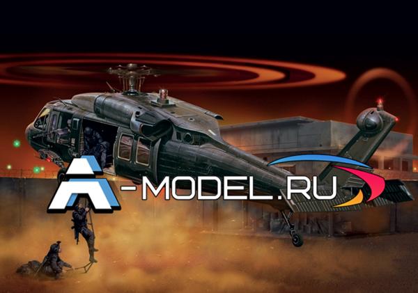 2706 UH-60/MH-60 Black Hawk 1/48 ITALERI купить сборную модель :: самолета :: вертолета.