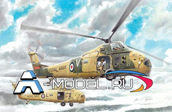2744 WESSEX HAS. 1 1/48 ITALERI купить сборную модель :: самолета :: вертолета.