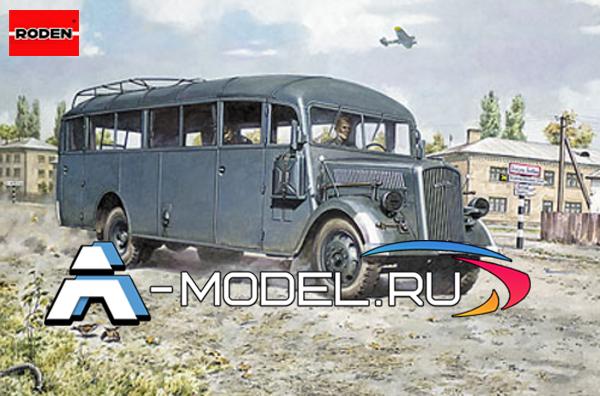 Opel Blitz Omnibus model W39  RODEN 1/72 техника 720
