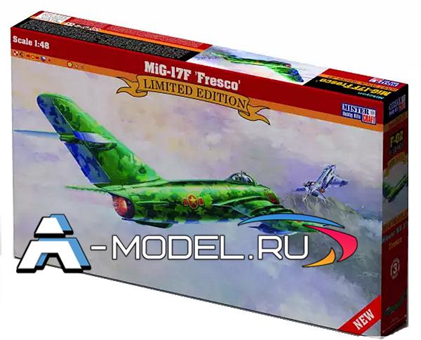 F-02 Mig-17F Fresco Mister Craft сборные модели самолетов 1/48
