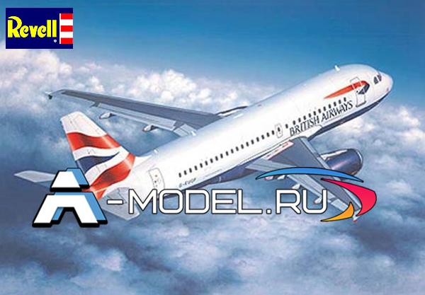 04215 Аэробус A319 - купить сборную модель самолета 1/144 Revell.