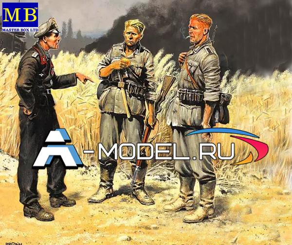 3510 German soldiers 1939-1942 Master Box 1/35 миниатюры и фигурки для диорам