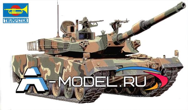 00331 K1A1 Korean 1:35 Trumpeter сборные модели танков и техники