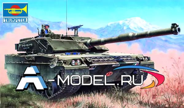 00332 C1 Ariete 1:35 Trumpeter сборные модели танков и техники