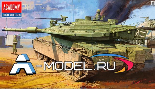 13227 Merkava Mk IV LIC - купить сборную модель техники 1/35 ACADEMY.