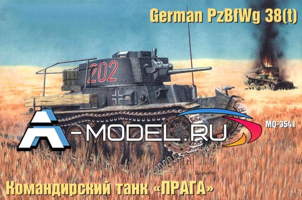 3541 Pz.KpfW 38t - Прага командирский - купить сборную модель танка MSD масштаба 1/35