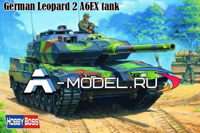 82403 Leopard 2 A6EX  - купить сборную модель техники 1/35 HobbyBoss.