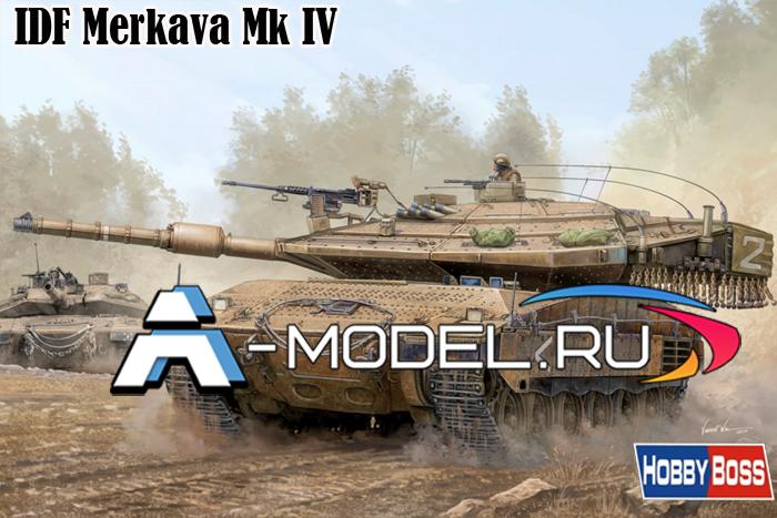 Израильский танк Merkava Mk IV, купить модель 82429 HobbyBoss в 1:35