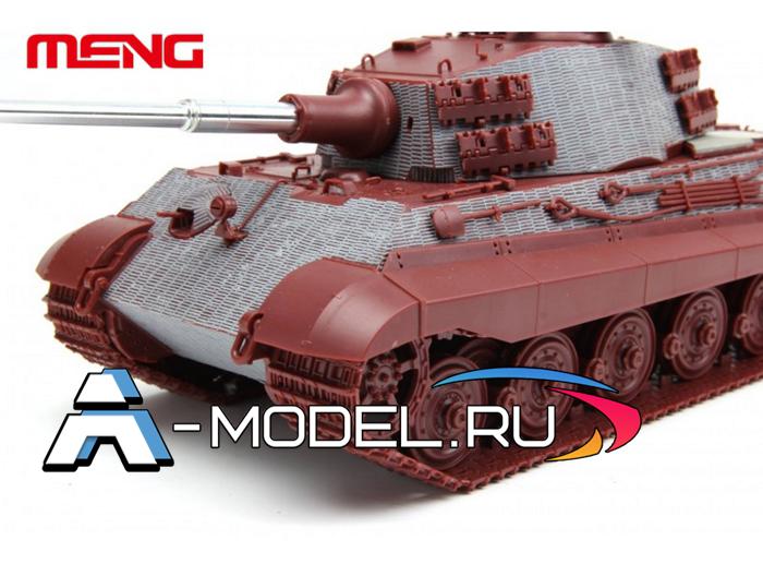 SPS-039 Zimmerit for model TS-031 Sd.Kfz.182 King Tiger henschel turret купить масштабную модель от MENG 1/35 в интернет магазине для моделистов A-model