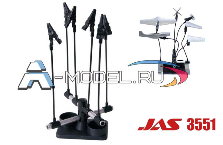 инструменты для моделистов Подставка держатель паук с гибкими стержнями JAS инструмент 1351 , цена