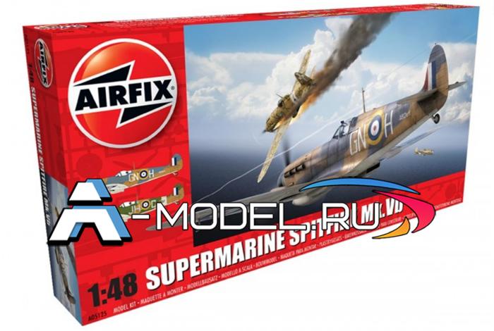 Самолёт Supermarine Spitfire MkVb сборная модель 1/48 AirFix A05125 цена