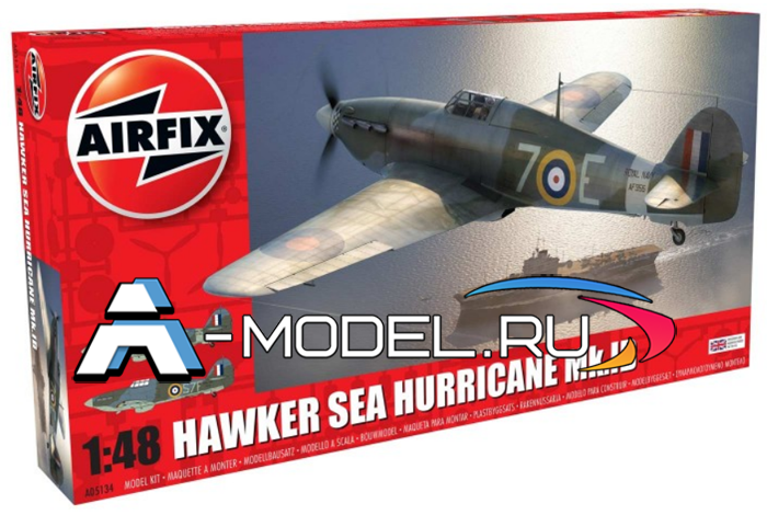 Самолёт Sea Hurricane MK.I сборная модель 1/48 AirFix A05134 цена