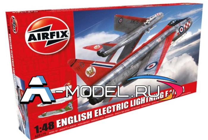 English Electric Lightning F1/F1A/F2/F3 сборная модель 1/48 AirFix A09179 цена