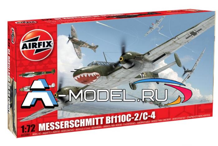 BF110C-2/C-4 сборная модель 1/72 AirFix A03080 цена