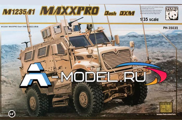 сборную модель M1235A1 MAXXPRO DASH DXM сборная модель 1/35 Panda Hobby PH35032 Panda Hobby цена в интернет-магазине доставка по Москве