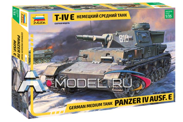 3641 Немецкий танк Т-IV E 1:35 ЗВЕЗДА, цена в интернет-магазине