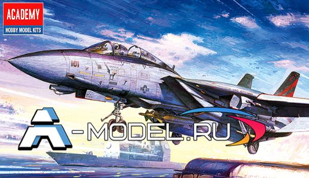 Самолет F-14A Bombcat сборная модель 1/48 Academy 12206 Цена