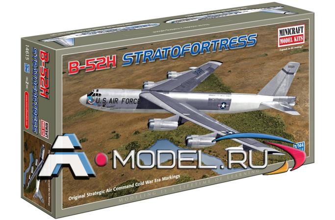 Купить по  низкой цене B-52 H Superfortress SAC сборная модель самолёта 1/144 MiniCraft 14615