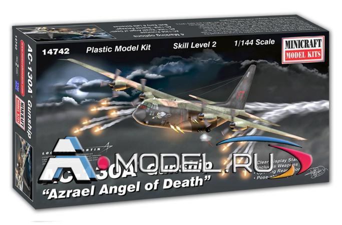 Купить по  низкой цене AC-130A Gunship сборная модель самолёта 1/144 MiniCraft 14742