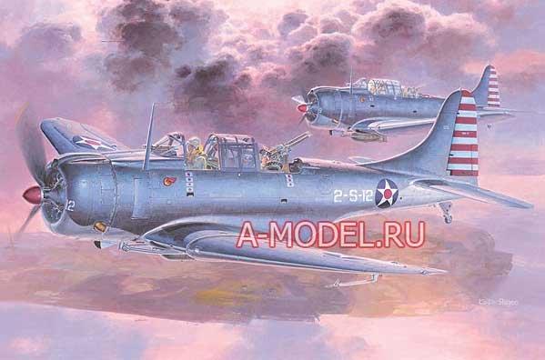Купить DOUGLAS SBD-3 DAUNTLESS JT19 сборная модель самолёта 1/48 Hasegawa 09119 доставка, цена