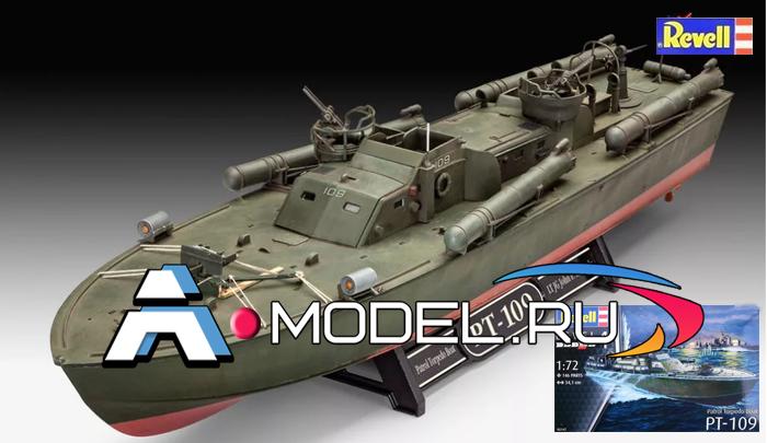 РТ-109 торпедный катер REVELL 1/72 флот 05147 REVELL сборные модели кораблей в наличии