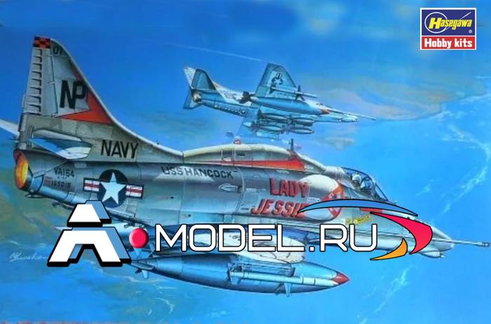 Купить A-4E/F Skyhawk сборная модель самолёта 1/32 Hasegawa 08063 доставка, цена
