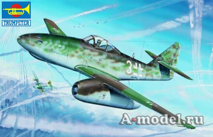 Купить  Ме 262 А-1а сборная модель 1/32 TRUMPETER 02260 цена, доставка