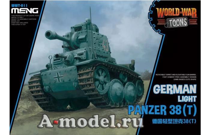 Panzer 38T toons модель танка MENG WWT-011 в наличии купить по низкой цене в интернет-магазине A-model