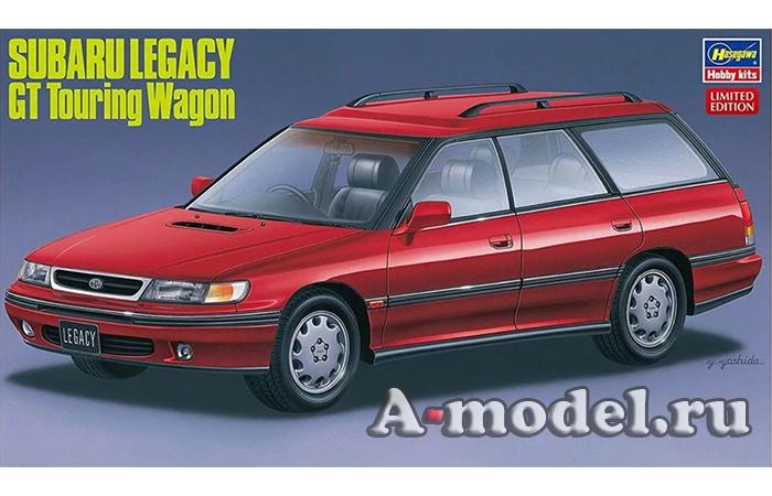 Купить SUBARU Legacy Gt Touring Wagon модель автомобиля 1/24 Hasegawa 20304 доставка, цена