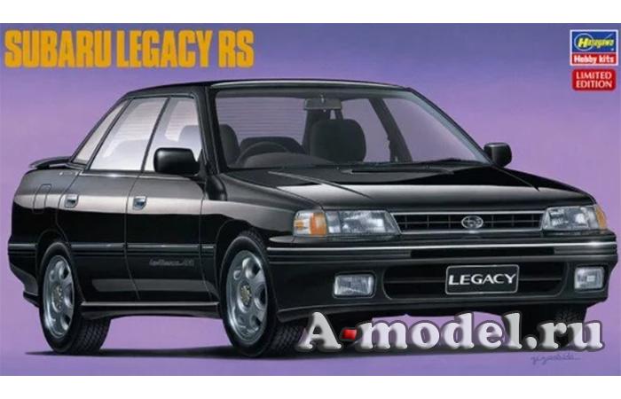 Купить SUBARU LEGACY RS модель автомобиля 1/24 Hasegawa 20328 доставка, цена