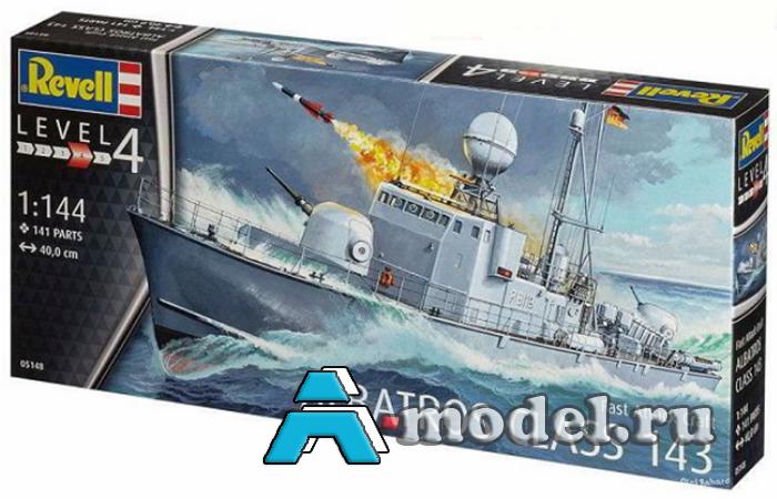 Купить  Albatros class 143 сборная модель корабля 1/144 REVELL 05148 цена, доставка