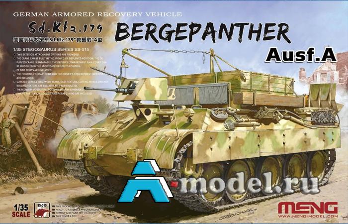Sd.Kfz/179 Bergepanther Ausf.A сборная модель 1/36 MENG SS-015 в наличии купить по низкой цене в интернет-магазине A-model