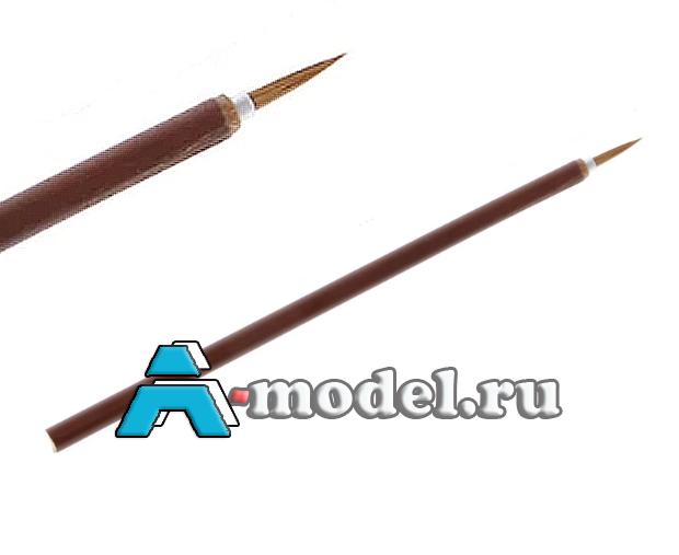 кисти для покраски сборных моделей Кисть для мелких деталей и фигурок аналог TAMIYA, калиграфическая 1 шт. кисти 51471 , цена
