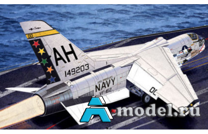 USN F-8E VF-162 The Hunters сборная модель 1/72 Academy 12521 Цена