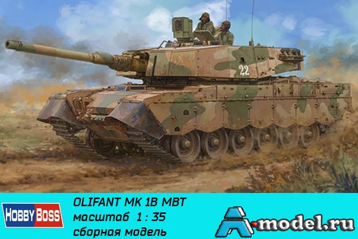 Купить Olifant Mk.1B MBT ЮАР сборная модель 1/35 Hobby Boss 83897  цена
