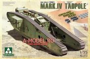 Heavy Battle Tank Mark IV Male Tadpole w/Rear mortar