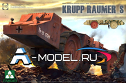 Krupp Raumer S mine cleaning vehicle
