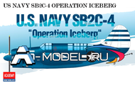 SB2C-4 U.S.Navy Operation Iceberg