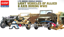 Light vehicle of allied & axis during WWII